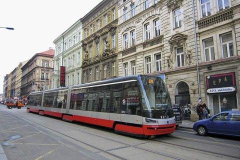 Схема движения трамваев в