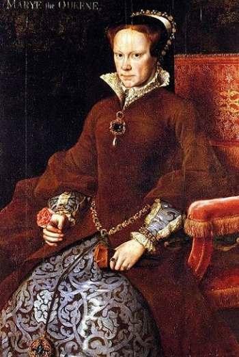 10. Королева Мария I, 1516-1558.