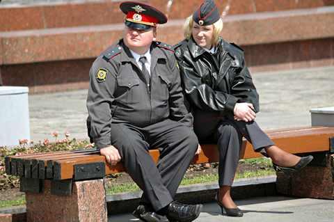 Чувствительный милиционер