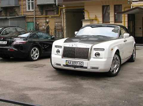 Rolls - Royce Drophead Coupe