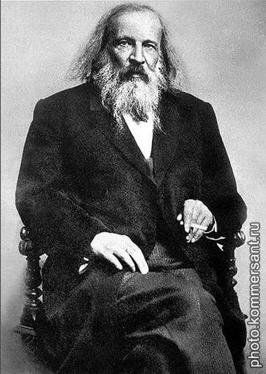 Дмитрий Иванович Менделеев (1834-1907) - великий русский ученый