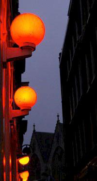 красные фонари