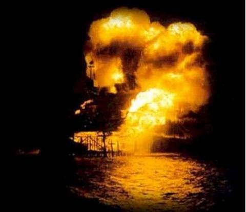 Взрыв на нефтяной платформе Piper Alpha
