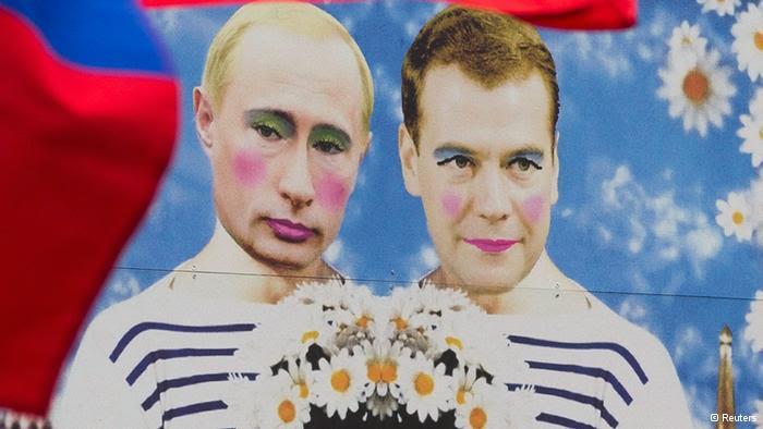 Снимок с«накрашенным» Путиным признали экстремистским изапретили