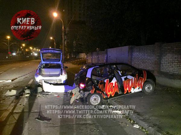 Сын народного депутата устроил гонки поКиеву: четверо пострадавших
