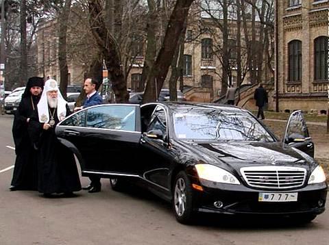 Шестисотый «мерин» патриарха Филарета