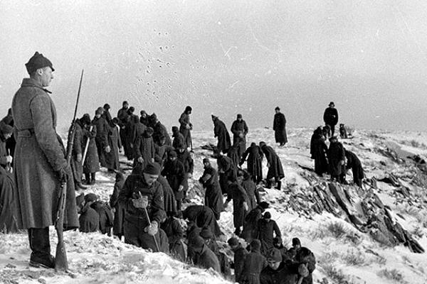 Иностранные военнопленные на стройках коммунизма