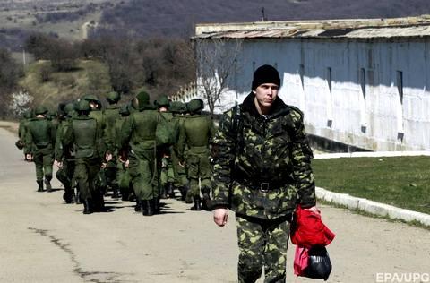 Небольшая часть украинских военных в Перевальном осталась верна присяге