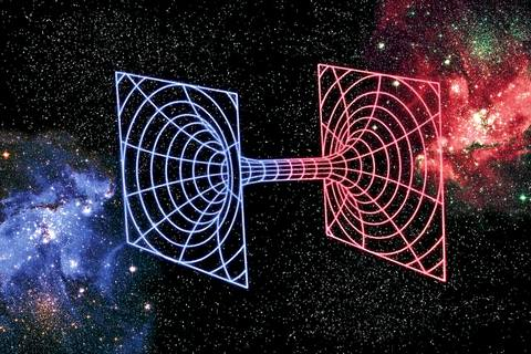 Согласно теории «кротовых нор» мир состоит из бесконечного числа параллельных вселенных, а значит, наша физическая реальность, которая кажется нам единственной и неповторимой, — только одна из возможных реальностей Фото: SPL (EAST NEWS)