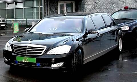 Святейший лимузин РПЦ