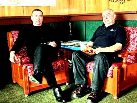 Юрий Шолух (справа) и Владимир Кобченко