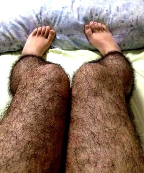 фото волосатые ноги
