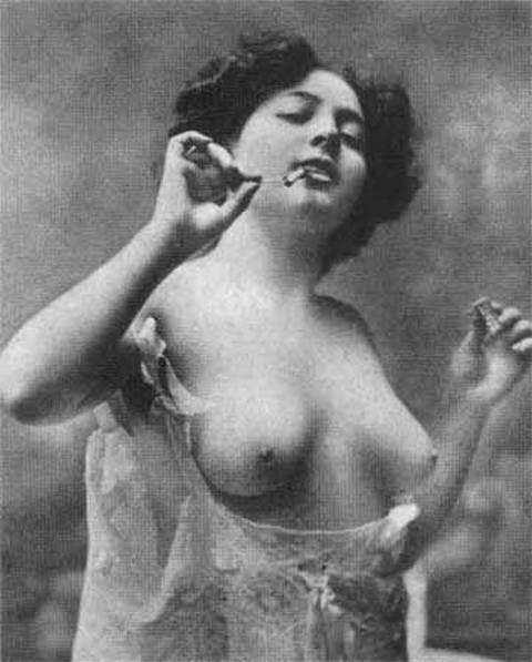 Парижская проститутка начала XX века