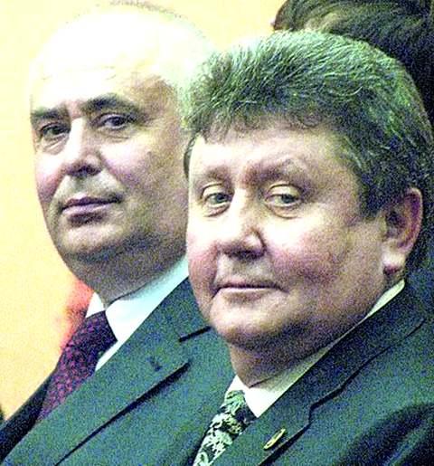 Александр Шевченко (справа)