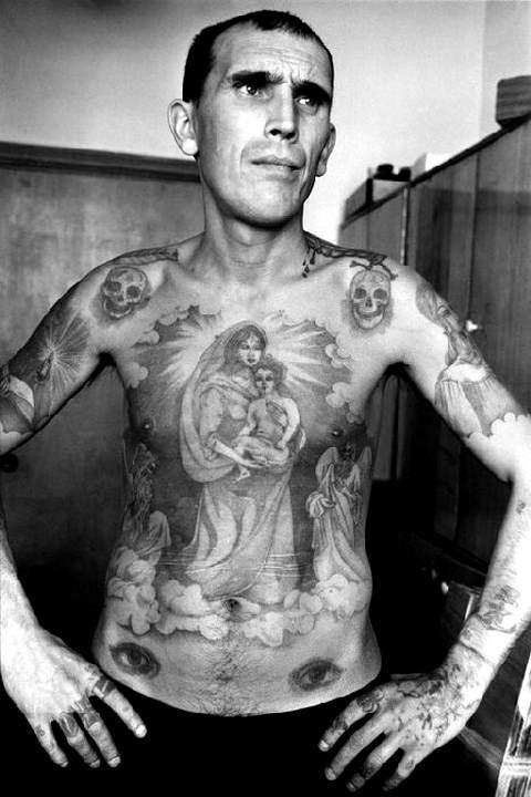 тюрьма уже знакома татуировка