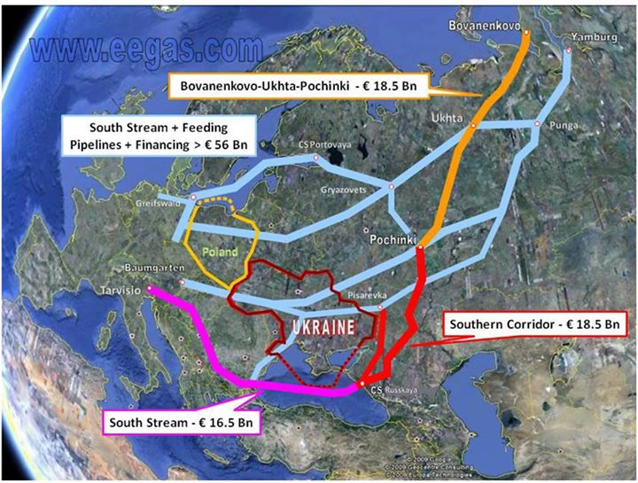 «Южный поток» — афера от начала и до конца