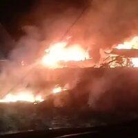 Под Харьковом разбился военный самолет Ан-26 есть погибшие и раненые (обновляется)