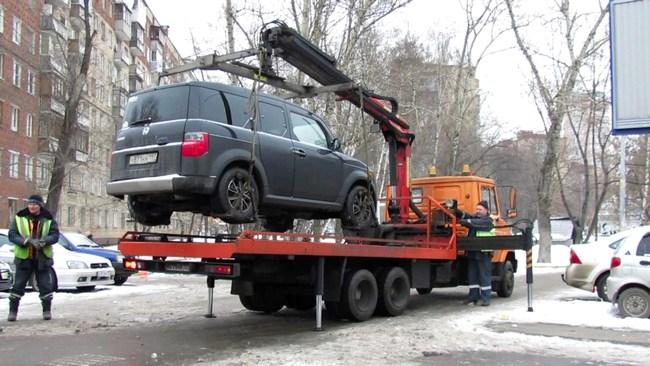 В каких случаях могут забрать авто на штрафплощадку